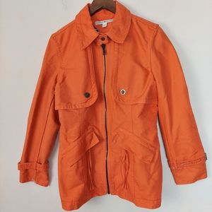Tommy Hilfiger Classic Short Trench Coat size 16
